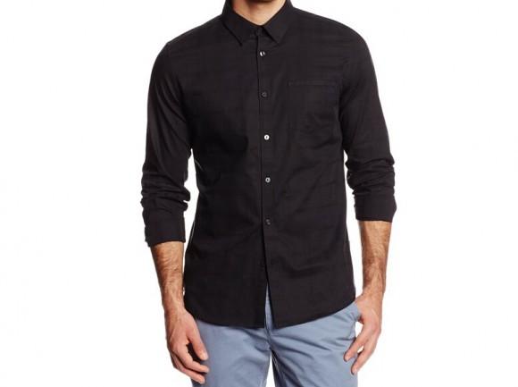 天气渐凉长袖起,Calvin Klein Sportswear 男士纯棉长袖衬衣