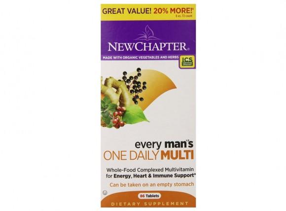 小刷新低,New Chapter 新章40岁以下男性综合维生素每日一片