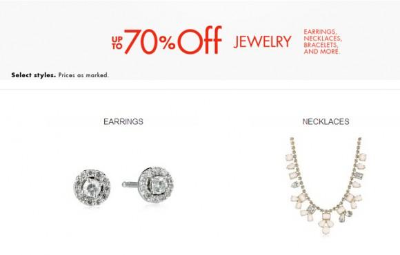美国亚马逊活动,流行品牌珠宝饰品3折促销进行中