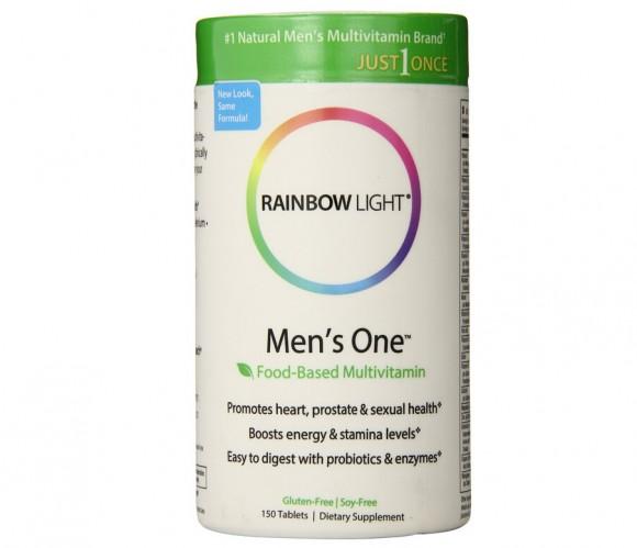 微降刷最低!Rainbow Light 润泊莱 男性每日一片综合维生素