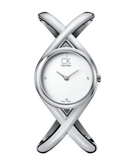 Ashford海淘新低!Calvin Klein Enlace K2L23126 女士时装手表