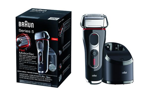 近期好价,Braun Series 5 5090cc 博朗全新5系电动剃须刀