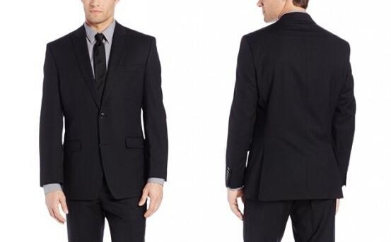 历史新低可用券,Calvin Klein Mercy 1 男士纯羊毛西装