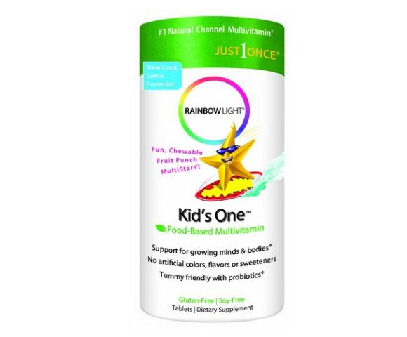 降至新低,Rainbow Light 润泊莱儿童多种维生素+益生菌