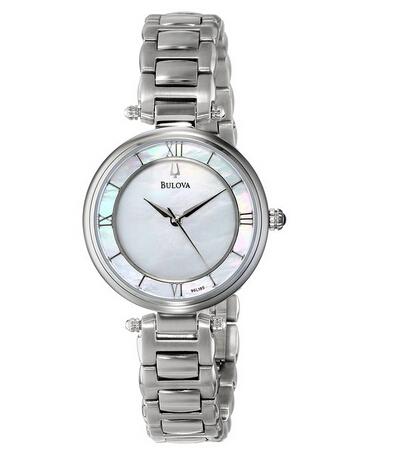 好价可入,Bulova 96L185 宝路华珍珠母贝时尚女表