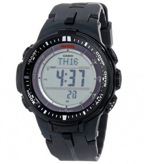 平了历史最低!Casio PRW-3000-1CR 卡西欧Protrek系列登山电波表