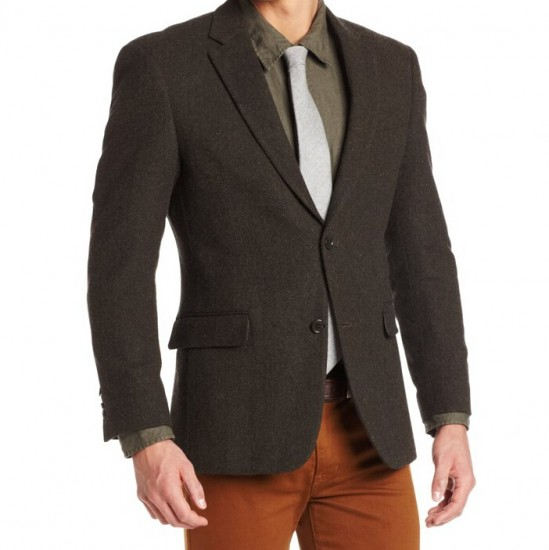历史新低,Tommy Hilfiger 汤米希尔费格全羊毛西装