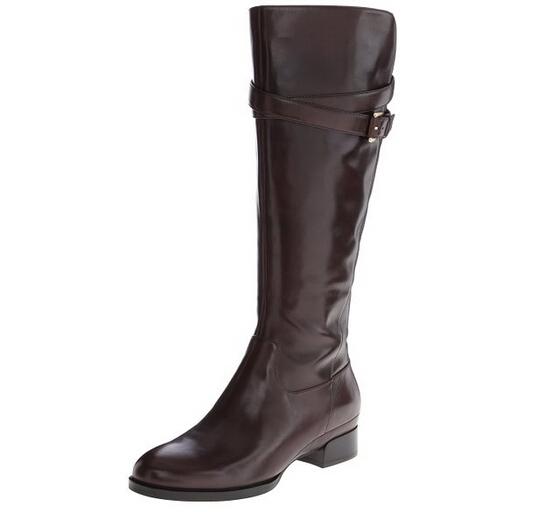 历史最低哦!ECCO Sullivan 爱步莎莉雯系列16寸女士平跟长筒靴