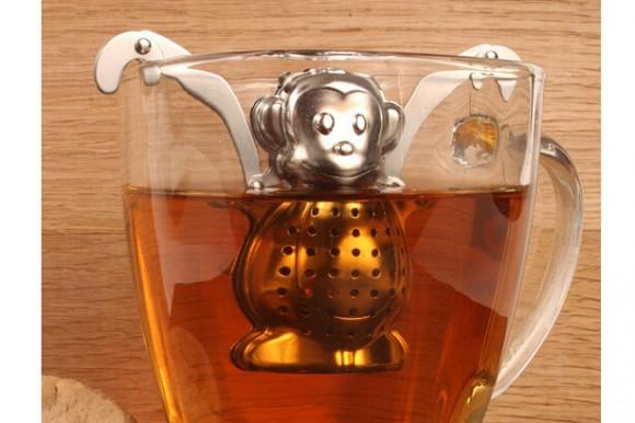 美亚直邮推荐,Kikkerland Monkey Tea 泡茶猴子
