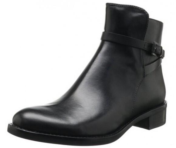 历史新低,ECCO Hobart爱步霍巴特女士牛皮正装短靴