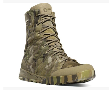 解放鞋style!Danner Melee 丹纳8寸男士迷彩战术靴
