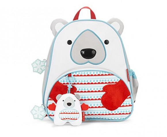 还是熟悉的新低!Skip Hop 动物园系列之北极熊儿童背包
