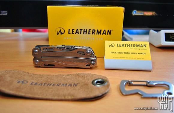 再次补货!Leatherman 831429 莱泽曼多功能工具钳含皮套挂环