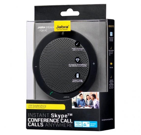 再降新低手快有!Jabra SPEAK410 捷波朗USB麦克风便携会议扬声器