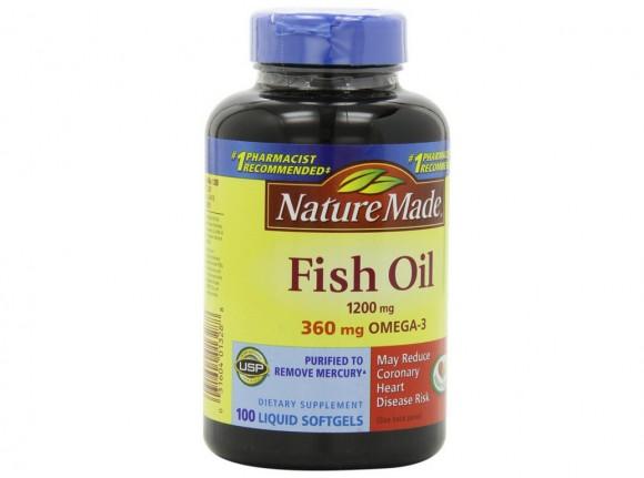 100粒也回归最低价!Nature Made 莱萃美Omega-3深海鱼油