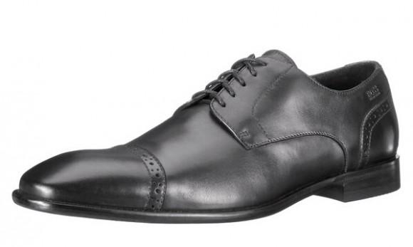 历史最低价,Hugo Boss 雨果博斯高端黑标男士正装皮鞋