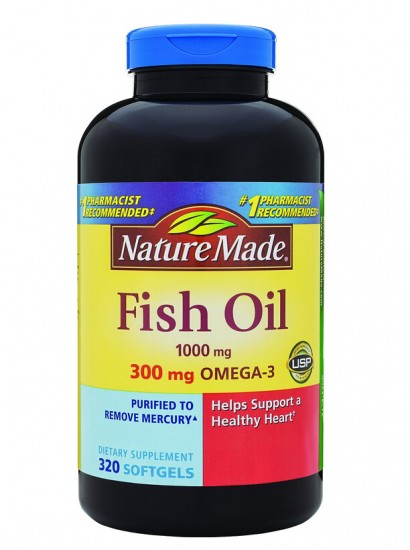 320粒最低价!Nature Made Omega-3 莱萃美深海鱼油