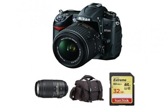 第三次新低!Nikon 尼康 D7000 18-55mm+55-300mm双镜头套机