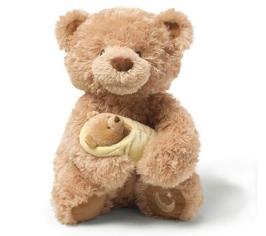 再次好价!Gund Rock-A-Bye 会唱歌的泰迪熊妈妈和小熊仔