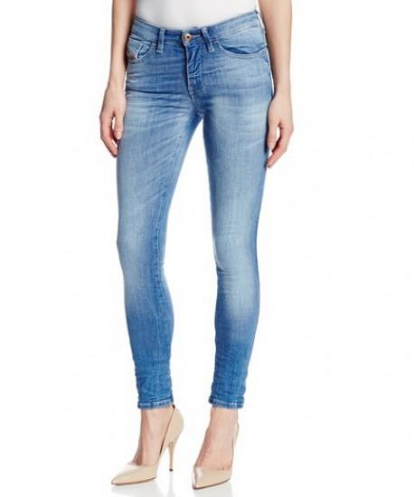 历史新低!DIESEL 0826I 迪赛女士紧身低腰牛仔裤