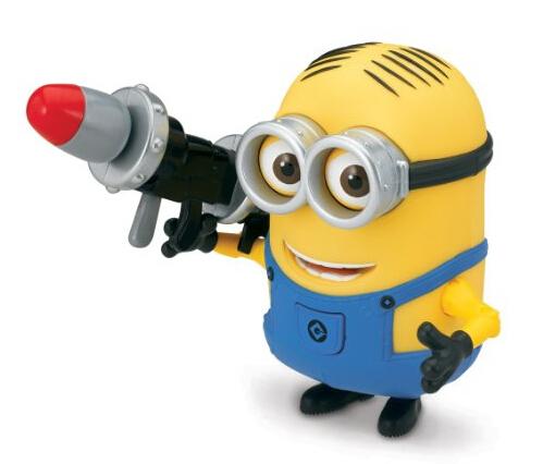 美亚直邮新低!Despicable Me 2 卑鄙的我扛火箭筒的小黄人