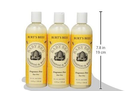 历史新低价!Burt's Bees 小蜜蜂婴儿洗发沐浴二合一无香无泪配方
