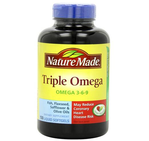 送父母首选,降三高,Nature Made 莱萃美三倍复合鱼油150粒
