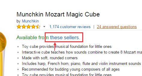 再次补货可直邮!Munchkin Mozart Magic Cube 麦肯奇音乐魔方