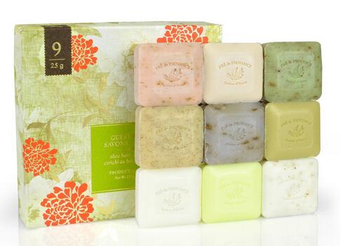 再降至新低!!Pre De Provence 普润普斯传统手工皂9块装