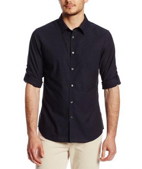 美亚直邮新低!Calvin Klein 男士修身长袖衬衫