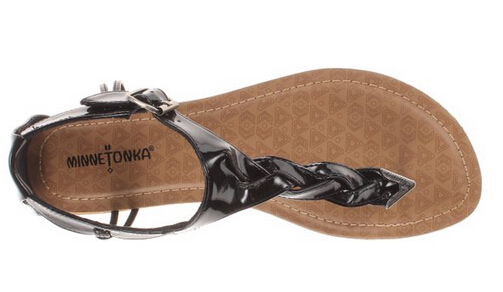 反季好价!Minnetonka 迷你唐卡夹趾款女士平底凉鞋