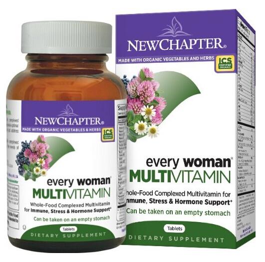 再次降至好价,New Chapter 新章 40岁以下女性综合有机营养片120片