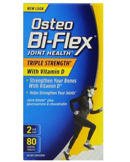 历史新低,Osteo Bi-Flex 三倍关捷健维骨力含维生素D,80粒装