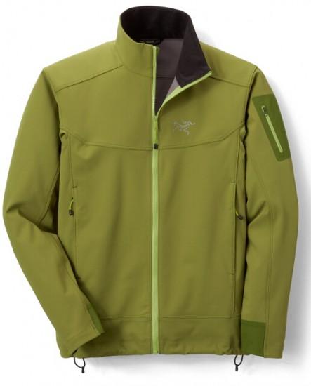 绿色补货5折,Arc'teryx Squamish Hooded 始祖鸟皮肤风衣