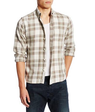 近期好价!DIESEL 迪赛男士纯棉休闲长袖衬衫