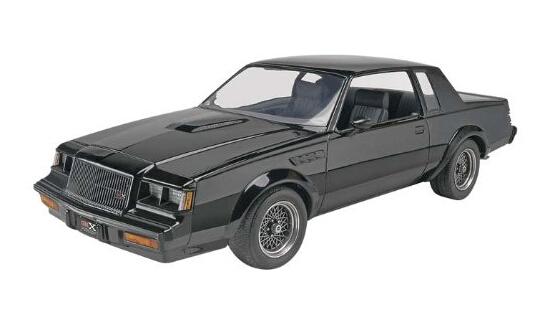 直邮一辆汽车!Revell Buick 利华87年别克GNX车型1:24模型