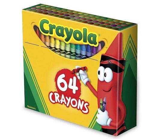 凑单好价了!Crayola 绘儿乐64色童趣蜡笔