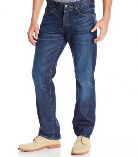 非常好价!7 For All Mankind 美国产男士直筒牛仔裤
