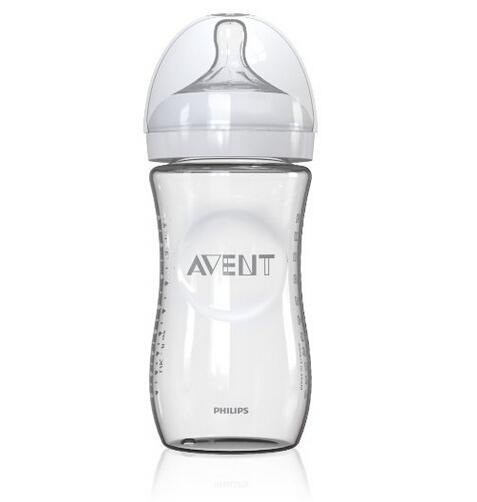 美亚直邮新低!Philips Avent 新安怡自然原生宽口径玻璃奶瓶240ml