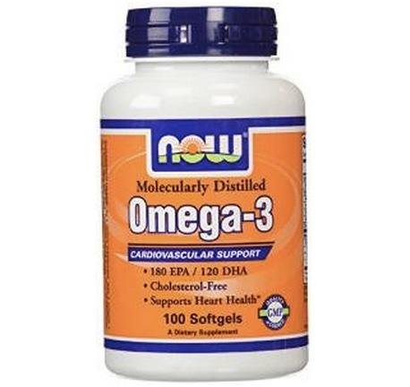 再次新低价!Now Foods Omega 3 诺奥深海鱼油软胶囊1000mg*100粒