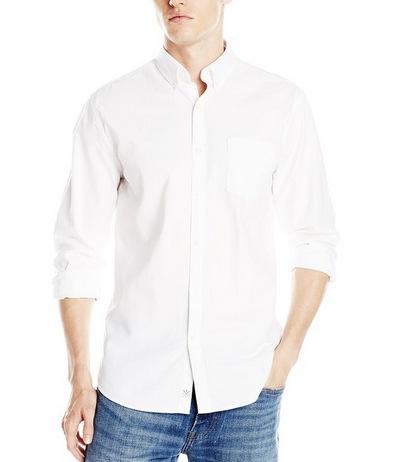 美亚直邮好价!Lucky Brand  幸运牛仔男士纯棉长袖衬衫