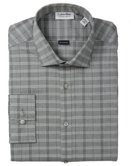 美亚直邮好价!Calvin Klein 卡尔文克莱恩男士纯棉修身长袖衬衫