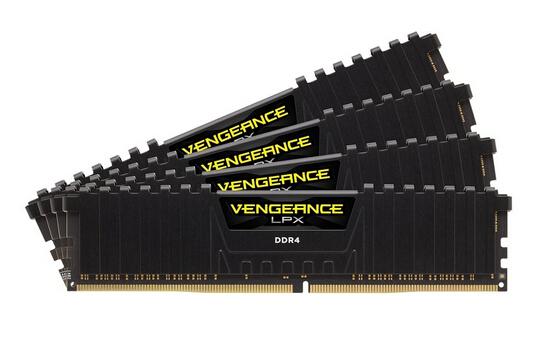 又降5刀!Corsair 海盗船复仇者LPX 16GB (4*4GB) DDR4 内存条