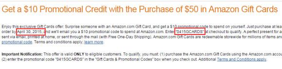 已经结束!4月份礼品卡买$50送$10抽奖活动又来了!