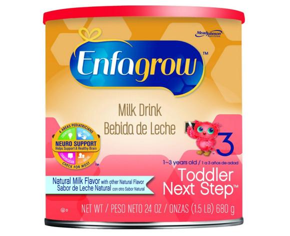 手快有!Enfagrow 美赞臣金樽3段婴儿配方奶粉680g*4罐