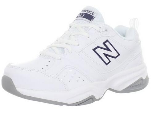 绝对白菜价!New Balance WX623 新百伦女士真皮训练鞋
