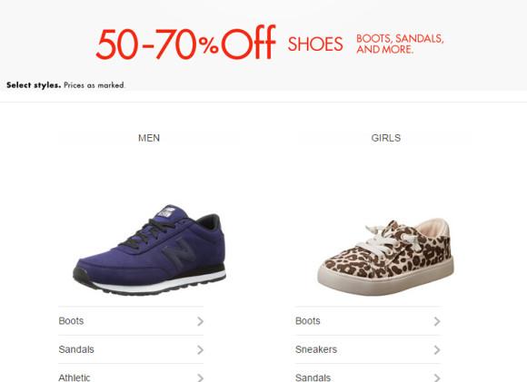 速度!!抢白菜了!美国亚马逊男女鞋3-5折促销专场开启,大量品牌