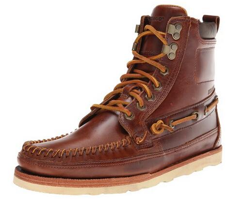 历史新低价!SEBAGO 仕品高男士系带休闲皮靴