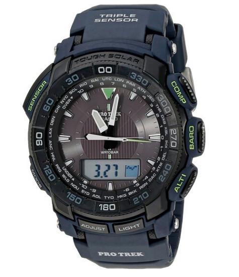 近期新低!Casio PRG-550-2CR 卡西欧男士光动能手表