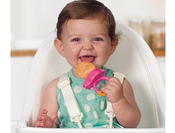 绝对降至新低了!Munchkin 麦肯齐 Feeders 宝宝咬咬袋2支装
